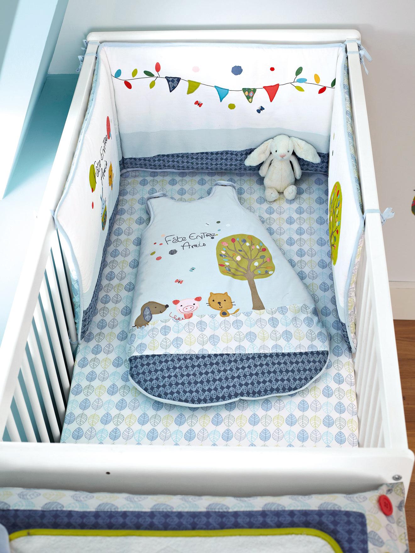Ropa de cama y cuna vertbaudet felices sue os decopeques - Ropa de cama para ninos ...
