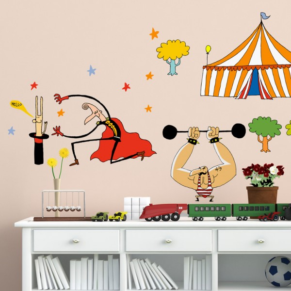 Vinilos decorativos infantiles de chispum decopeques for Vinilos decorativos pared ninos