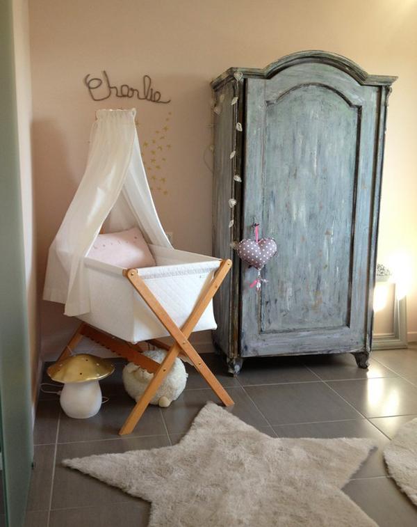 Una habitación de bebé con encanto