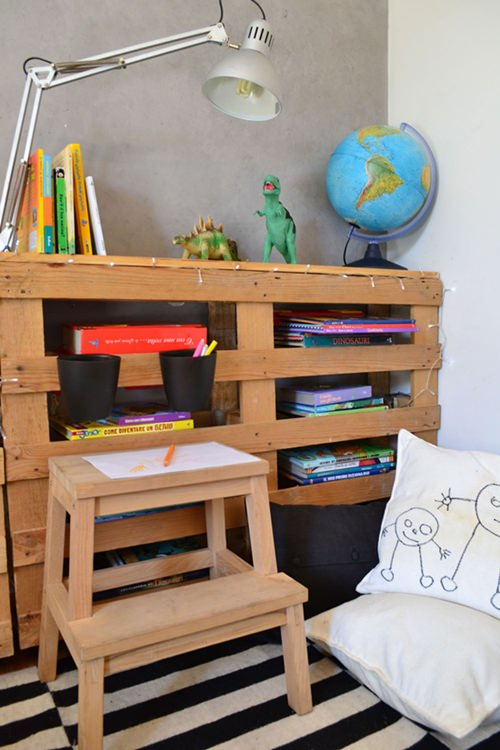 8 ideas con pallets para cuartos infantiles decopeques for Ideas decorar habitacion infantil
