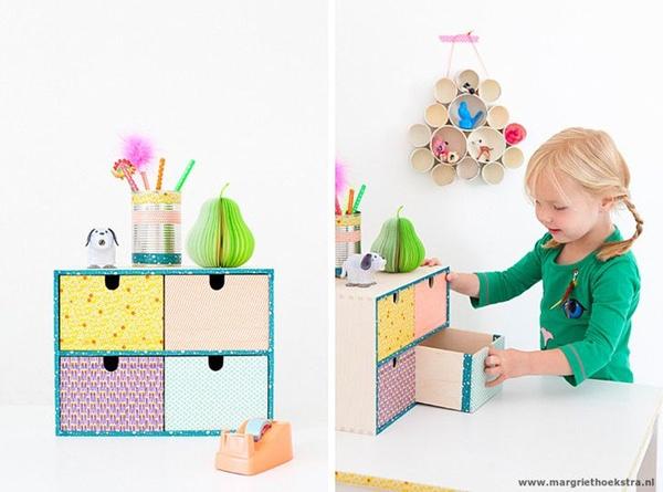 11 ideas para decorar y jugar con washi tape decopeques - Como decorar con washi tape ...