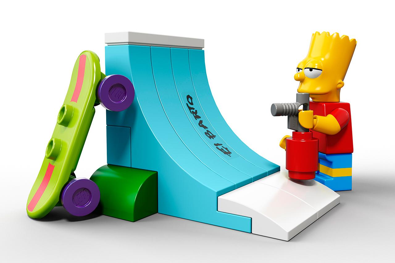 Llega la familia Simpsons en versión Lego.