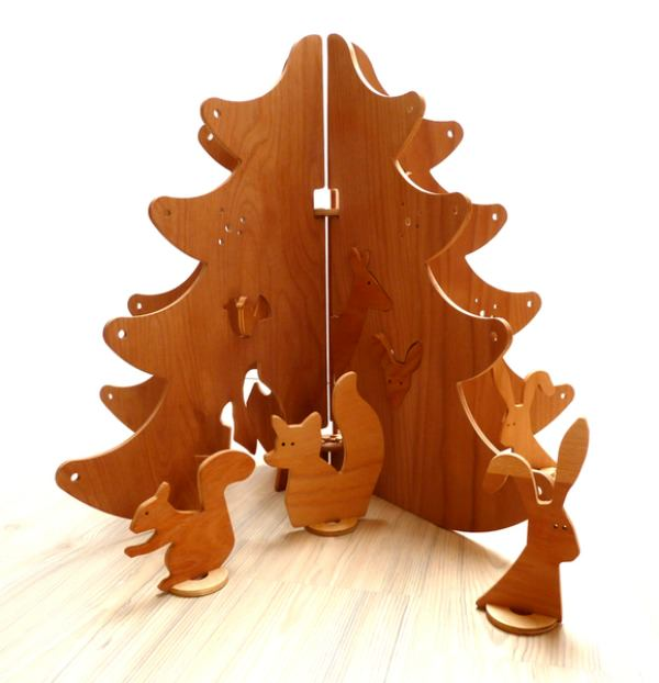 Wooden Forest Toy by Lesna Vesna, Dawanda
