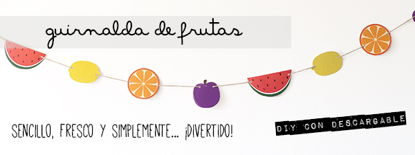 tutorial pailla de fruta