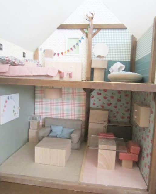 La casa de patricia creadora de nicoletas handmade for Casita de madera ikea