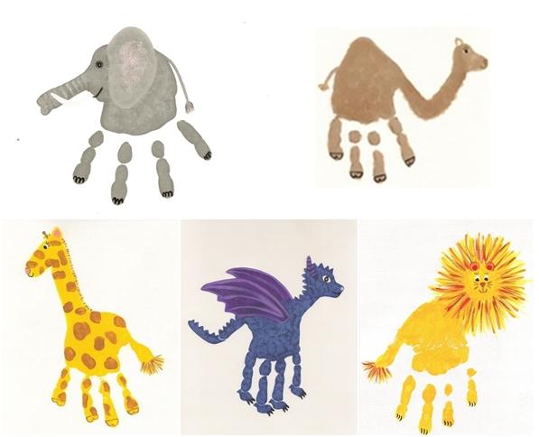 Manualidades para hacer con los ni os el fin de semana - Ninos pintando con las manos ...
