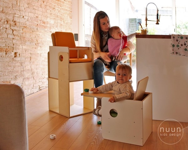 Nuun kids design muebles divertidos y multifuncionales for Muebles divertidos