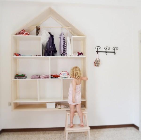 Tendencias en decoraci n infantil 7 muebles con forma - Estanteria pared infantil ...