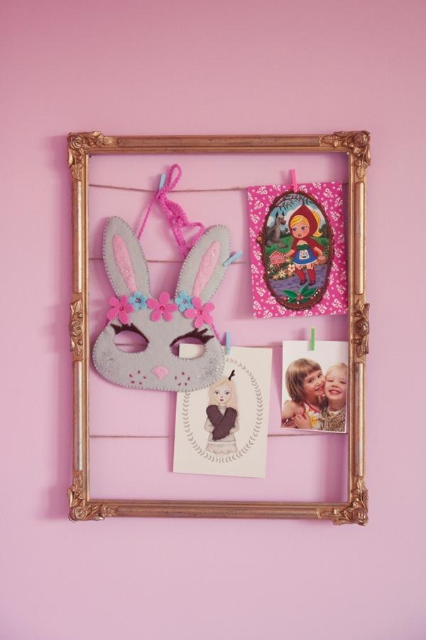 Habitaci n en rosa para una ni a con muebles de ikea - Cosas para decorar tu habitacion ...