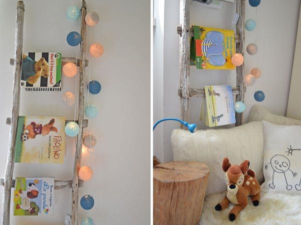 habitaciones infantiles diy-escalera-libreria