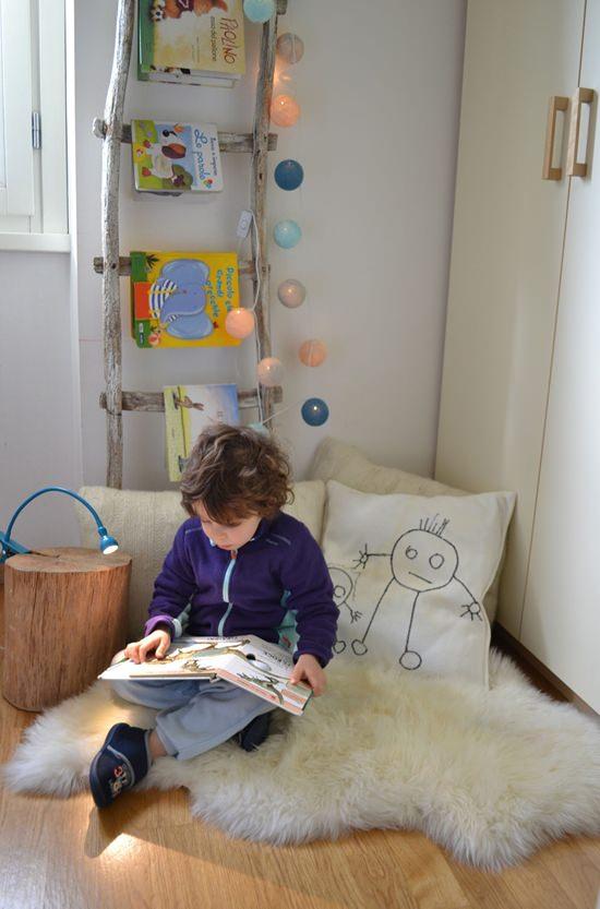 habitaciones infantiles diy--escalera