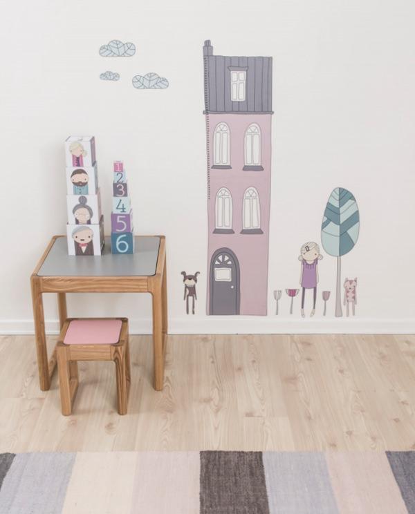 Vinilos infantiles y textiles para beb de sebra decopeques for Vinilos para decorar habitaciones infantiles