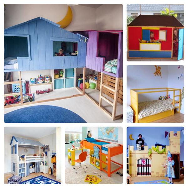 9 ideas para personalizar la cama kura de ikea decopeques - Ikea habitaciones infantiles literas ...