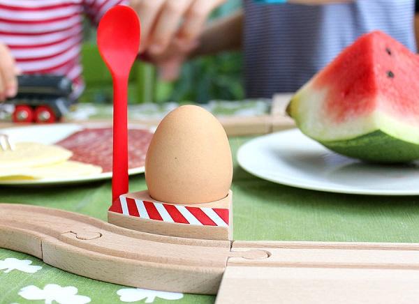 Set de desayuno con huevo