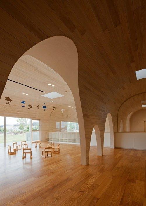 Espacios Cool para niños… Leimond-Shonaka Nursery School en Japón
