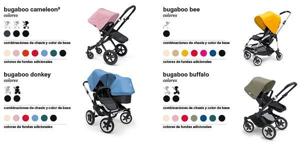 Guía Bugaboo - fundas de colores Bugaboo