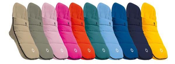 Guía Bugaboo - sacos de colores Bugaboo