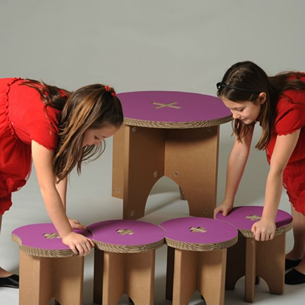 Grape Stools by Eco + You