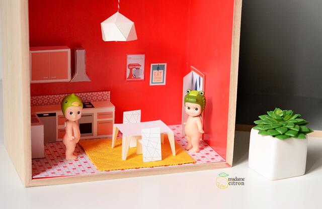 Muebles De Papel Descargables Para Sencillas Casas De