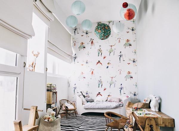 El dormitorio infantil de brune decopeques - Dormitorios infantiles vintage ...