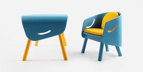 Muebles para niños, muebles creativos