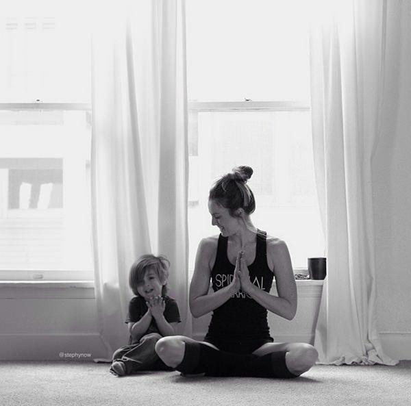 yoga-niños-madre