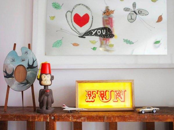 Decoración infantil con Cajas de Luz… Lightbox!
