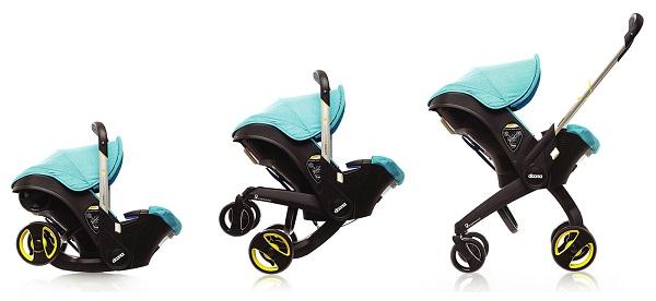 Doona, silla de coche y de paseo a la vez