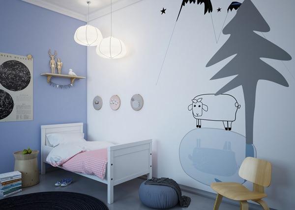 murales-dormitorios-niños