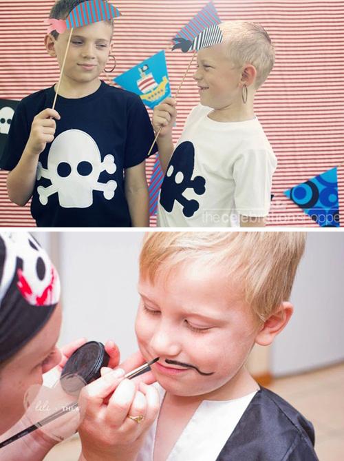 disfraces caseros fiesta cumpleaños infantil pirata