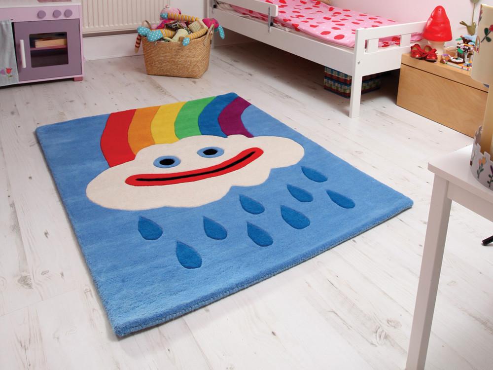 Alfombras infantiles divertidas con mucho color - Alfombra habitacion nino ...