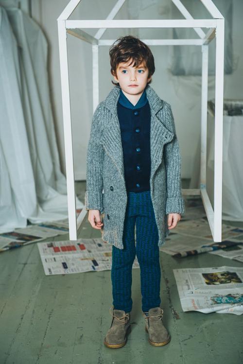 La colección de invierno de la marca infantil letona Paade Mode