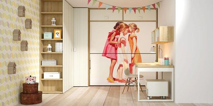 Muebles juveniles e infantiles de lagrama decopeques for Vinilos juveniles ikea