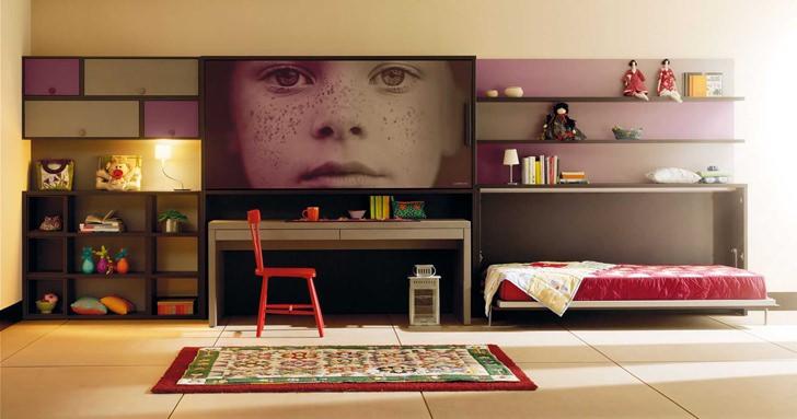 Muebles juveniles e infantiles de lagrama decopeques for Habitaciones originales para adultos