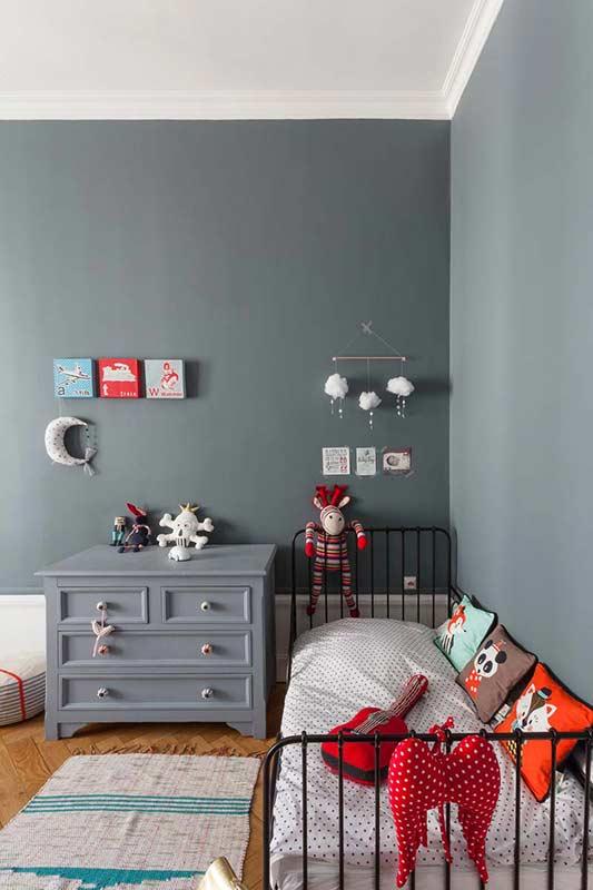 10 dormitorios infantiles ideales en tonos grises decopeques - Dormitorios infantiles blancos ...