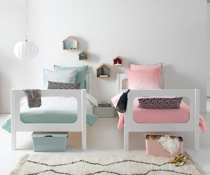 5 dormitorios infantiles compartidos para hermanos for Decoracion de cuartos para ninas grandes