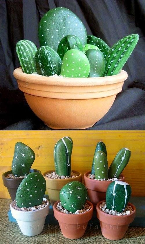 piedras-cactus-ideas