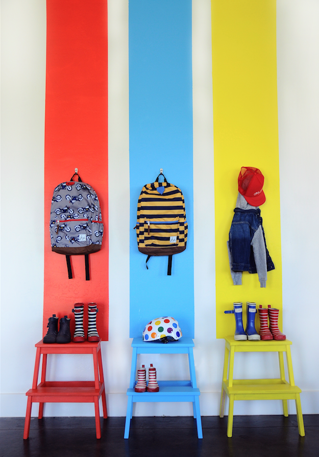 6 ideas originales para decorar las paredes del dormitorio - Pintura infantil pared ...