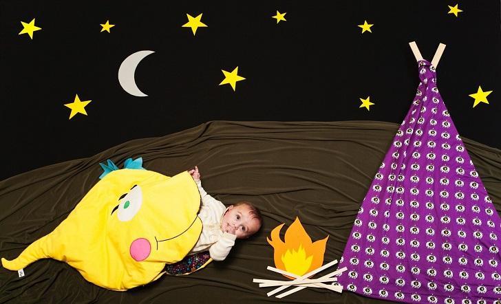 Paperdolls, adorables renacuajos para envolver a tu bebé