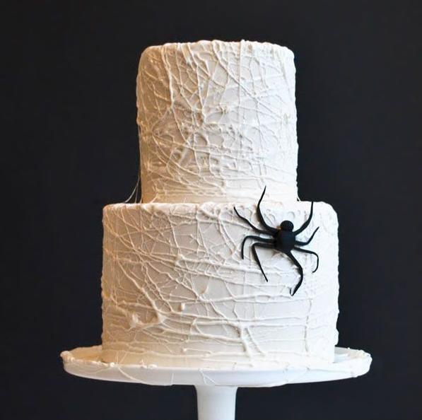 tarta-araña-halloween