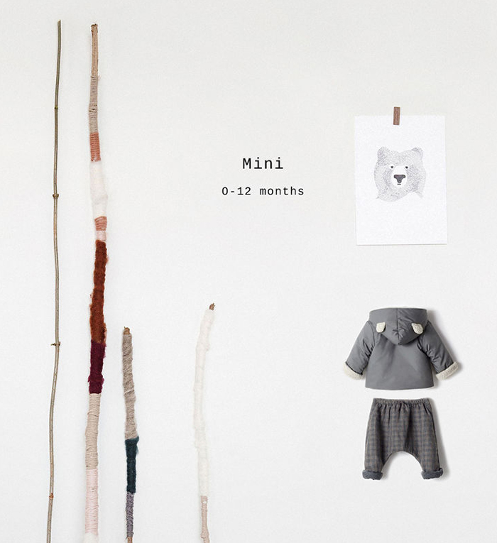 El otoño también llega para los bebés: colección Zara Mini 2014