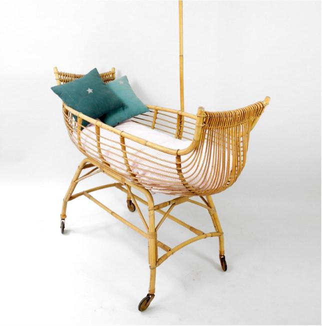 Donde comprar cunas de mimbre para tu beb decopeques - Muebles de bambu y mimbre ...