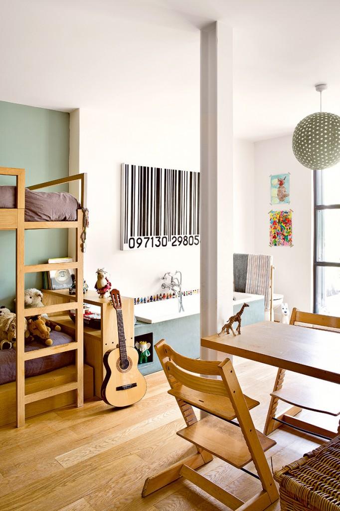 Las habitaciones juveniles de una paisajista parisina en - Habitaciones decoradas juveniles ...