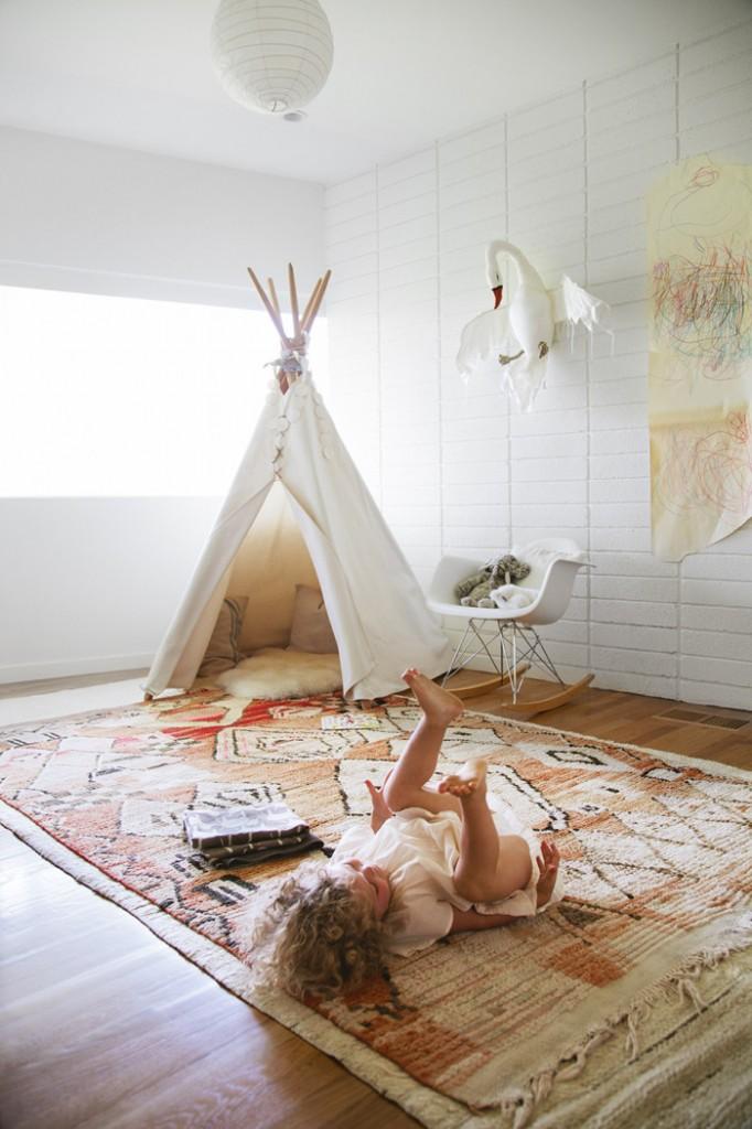 Tendencias en decoraci n infantil alfombras chic vintage - Alfombras habitacion nino ...