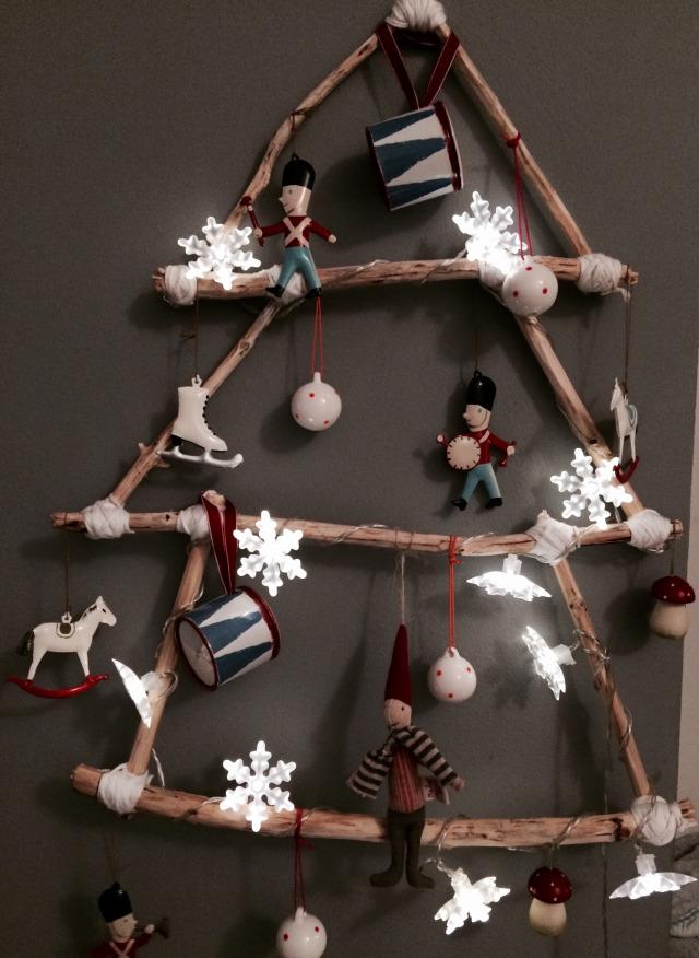 Un rbol de navidad para ni os f cil y muy trendy - Arbol de navidad para ninos ...
