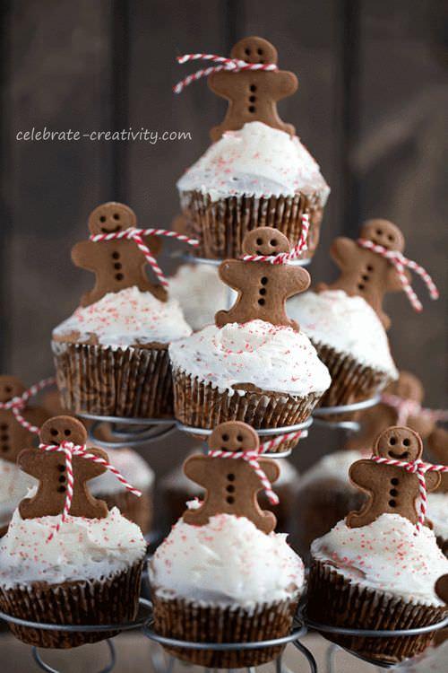 tarta-cupcakes-navidad-niños
