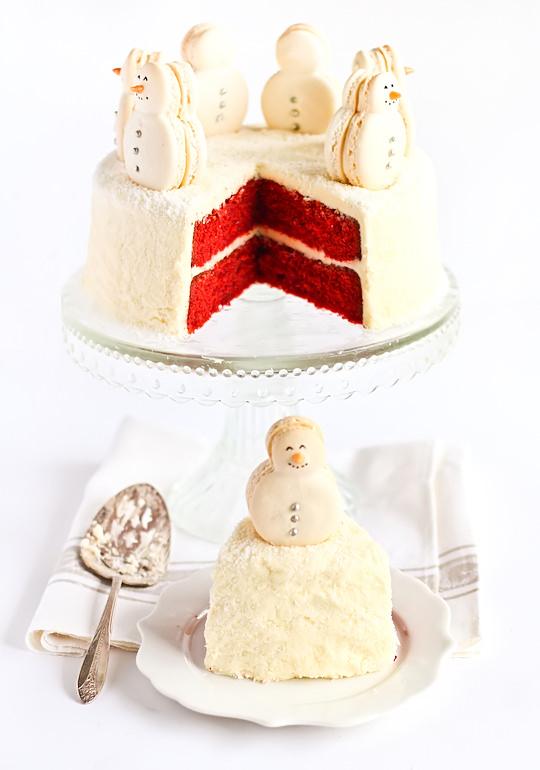 tarta-nevada-navidad-niños
