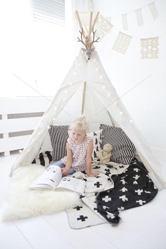 Una delicada habitaci n n rdica para ni os for Decoracion nordica habitacion bebe