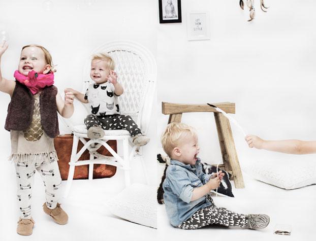 ropa de bebés Little Indians