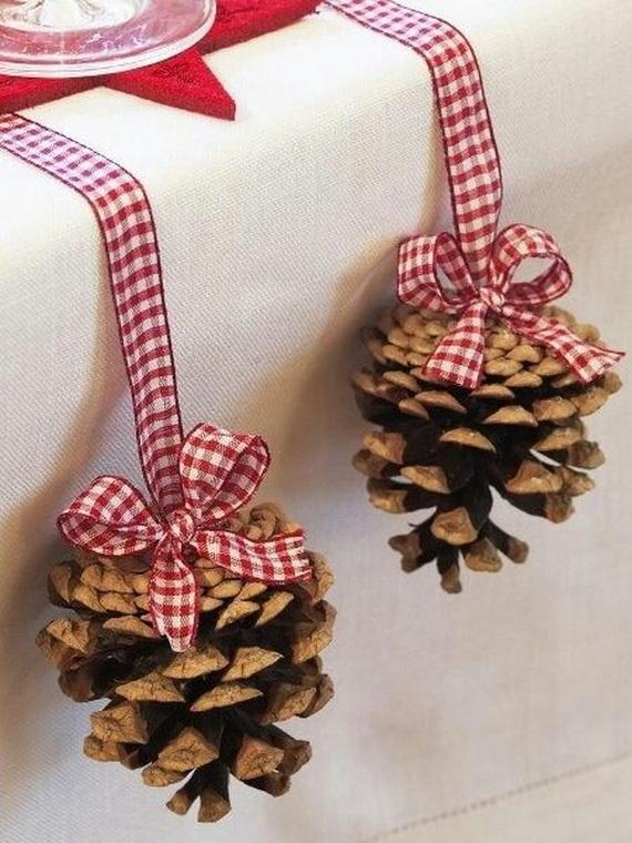 decoracion-piñas-navidad